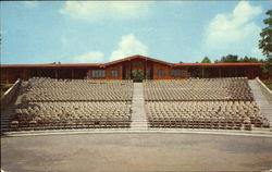 Cliffside Amphitheater, Grandview State Park Postcard