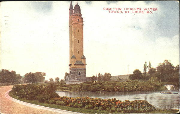Compton Heights Water Tower St. Louis Missouri