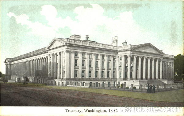 Treasury Washington District of Columbia