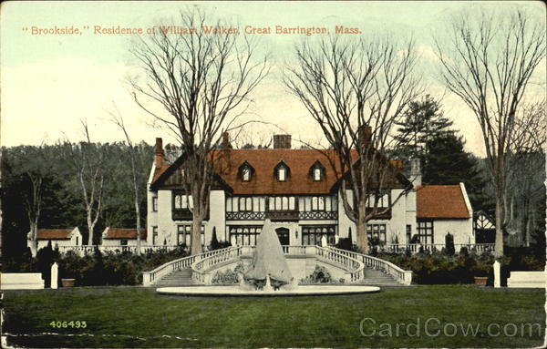 Residence Of William Walker Great Barrington Massachusetts