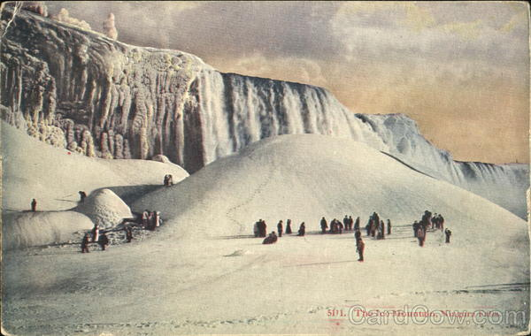 The Ice Mountain Niagara Falls New York