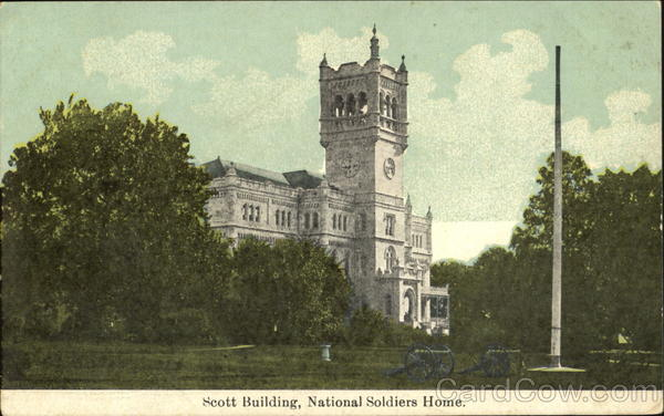 Scott Building National Soldiers Home Washington District of Columbia