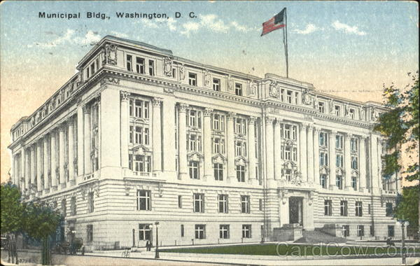 The Municipal Building Washington District of Columbia