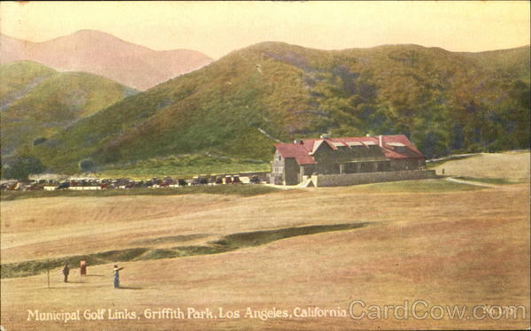 Municipal Golf Links, Griffith Park Los Angeles California