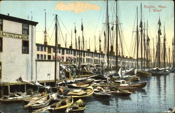 T. Wharf Boston Massachusetts