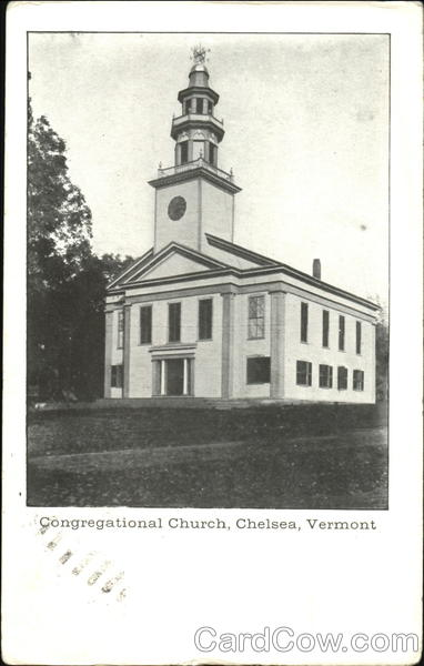 Congregational Church Chelsea Vermont