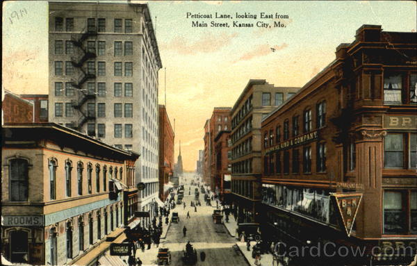 Petticoat Lane, Main Street Kansas City Missouri