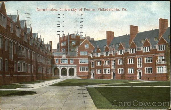 Dormitories, University of Penna Philadelphia Pennsylvania