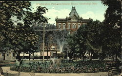 Washington Park And Sloane Home Postcard