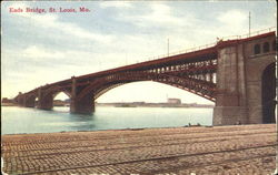 Eads Bridge Postcard