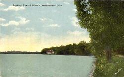 Looking Toward Dixon's, Oconomowoc Lake