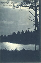 Moonlight On Lake Naomi, Pocono Pines Assembly