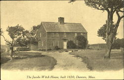 The Jacobs Witch House Built 1650