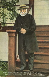 Rev. Wm. Duncan Postcard