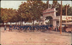 Second Regiment Of Illinois Entering Camp Lincoln
