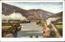 Missoula River And Hellgate Canyon