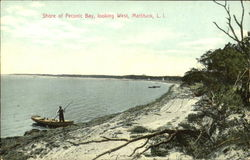 Shore Of Peconic Bay Looking West