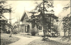 Boyer Cottage Through The Pines, Wells College
