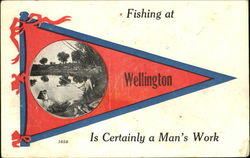 Fishing At Wellington