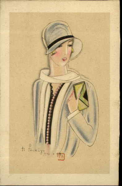 art deco fashion images. Fashion Woman Art Deco