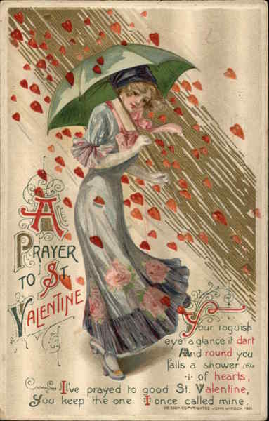 sold - Saint Valentine Prayer