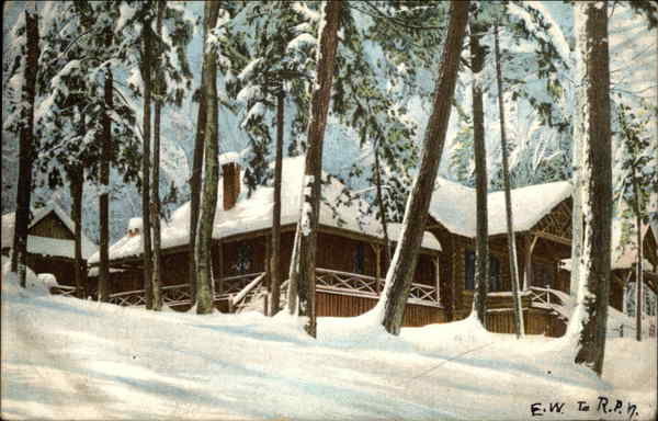 A Forest Home in Winter - Coded Message Puzzles
