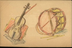 Instruments - Violin and Drum