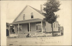 Geo. Nichols Store and Post Office