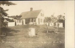 Residence of the late Hon. James M. Wright