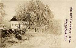 Ice Storm, Feb. 16, 1909, Rockland
