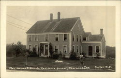 Mrs. James P. Nichols' Residence, formerly Hammond Inn