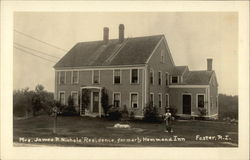 Mrs. James P. Nichol's Residence
