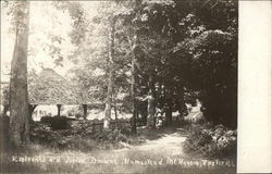 Entrance and Drive, Drowne Homestead, Mt. Hygeia