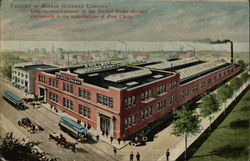 Factory of Alfred Holzman Post Cards Postcard