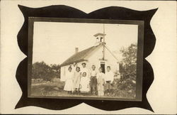 Schoolhouse & Children