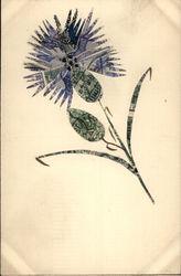 Stamp Montage - Flower