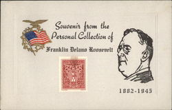 Souvenir from the Personal Collection of Franklin Delano Roosevelt