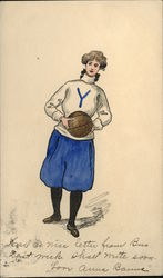 Yale - Basketball Woman