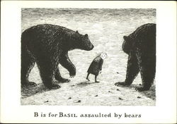 B is for Basil Assaulted by Bears