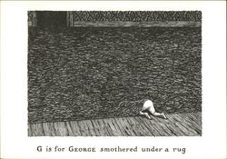 G is for George Smothered Under a Rug