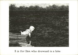 I is for Ida who Drowned in a Lake