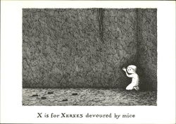 X is for Xerxes devoured by mice