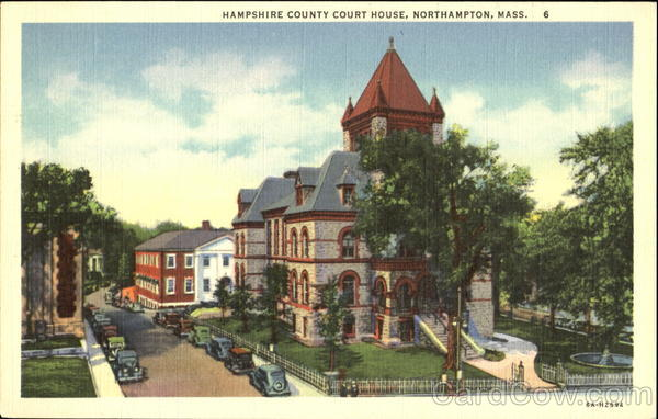 Hampshire County Court House Northampton Massachusetts