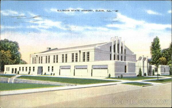Illinois State Armory Elgin