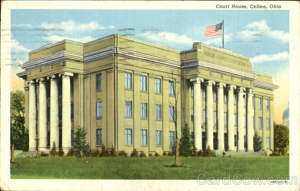 Court House Celina Ohio