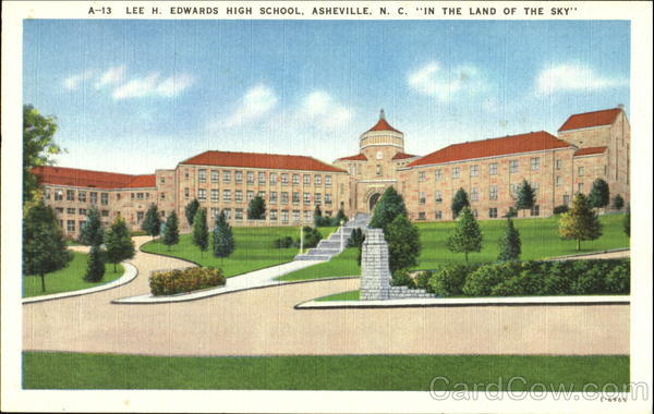 Lee H. Edwards High School Asheville North Carolina