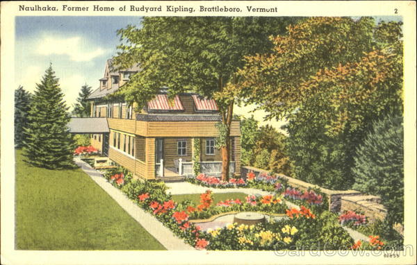 Brattleboro, Vermont, Rudyard Kipling Home (b-miscVT328