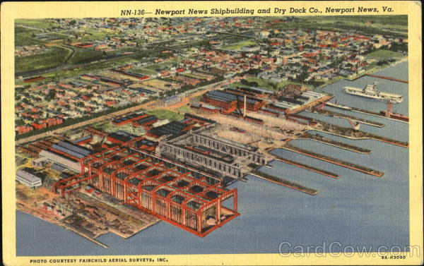 Newport News Shipbuilding And Dry Dock Co Virginia