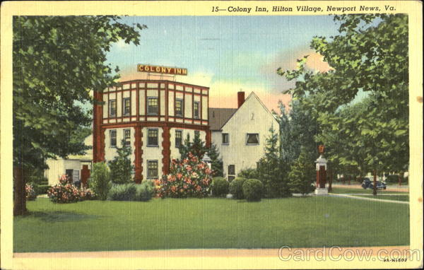 Colony Inn At Hilton Village Newport News Virginia