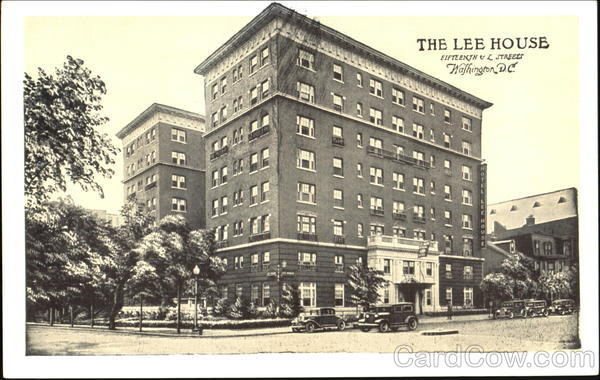 The Lee House, 15th & L Streets Washington District of Columbia